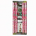 gift wrapping paper roll 76cm x 3.05m 80gsm coated paper