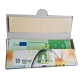 Euro money rolling paper 24k gold foil rolling paper