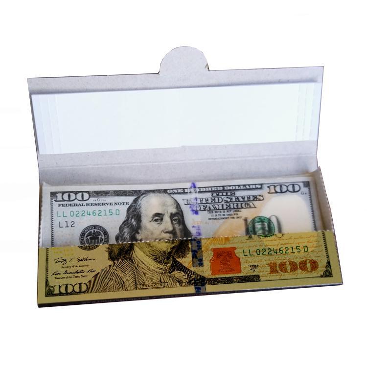 手工卷煙紙創意卷煙紙24k金色卷煙紙個性煙紙 1