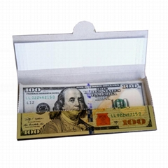 手工卷煙紙創意卷煙紙24k金色卷煙紙個性煙紙