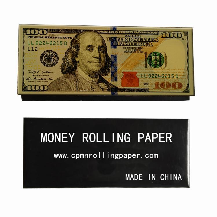 手工卷煙紙創意卷煙紙24k金色卷煙紙個性煙紙 3