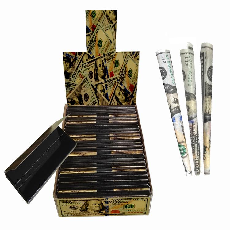 手工卷煙紙創意卷煙紙24k金色卷煙紙個性煙紙 5