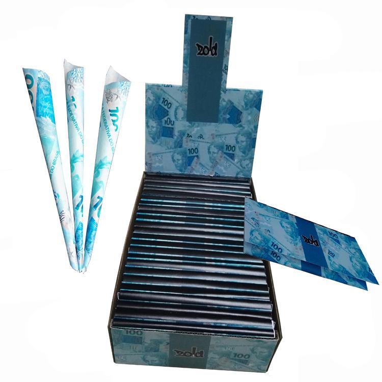 手工卷煙紙創意煙紙24k金色卷煙紙個性卷煙紙 3