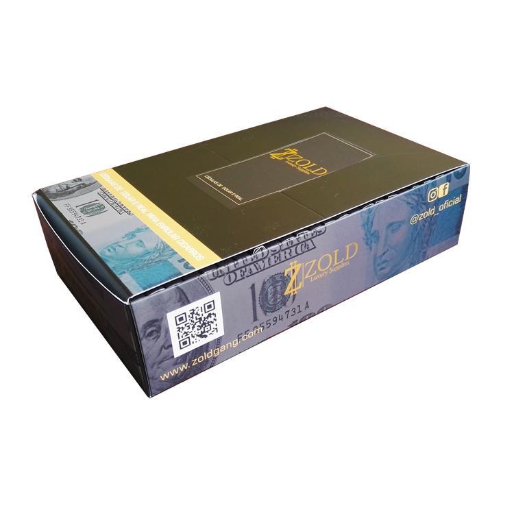 手工卷煙紙創意煙紙24k金卷煙紙個性卷煙紙 4