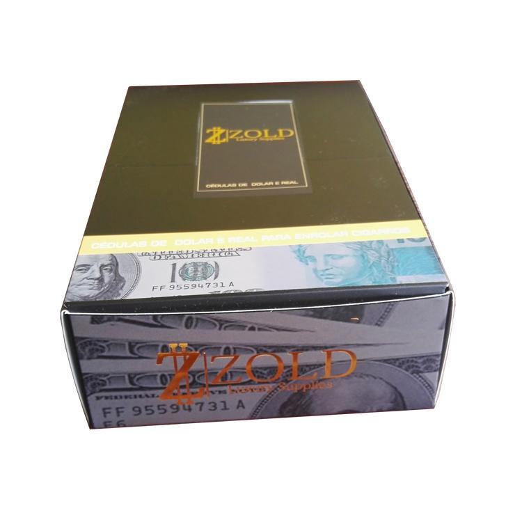 手工卷煙紙創意煙紙24k金卷煙紙個性卷煙紙 5