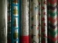 禮品包裝紙套裝70克牛皮紙70cm x 2.0m彩色印花包裝紙 4