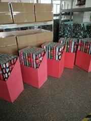 印花禮品包裝紙套裝60克輕塗紙76cmx 3.05m金屬色印刷