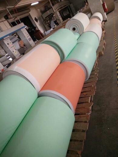 印花禮品包裝紙套裝60克輕塗紙76cmx 3.05m金屬色印刷 9