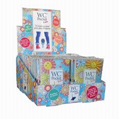 disposable paper toilet seat cover 10pcs flushable