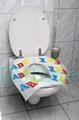 disposable toilet seat cover 40cmx 42cm 17gsm flushable public package