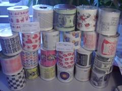 彩色印花衛生紙創意印花廁紙個性卷紙深圳紙巾印刷廠