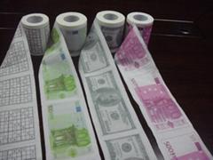 印花卫生纸订制彩色卫生纸批发深圳印刷卫生纸加工