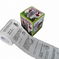 custom printed toilet paper funny toilet paper china factory