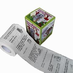 印花卫生纸个性印花卷筒纸批发创意印花纸巾厂