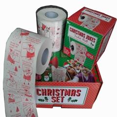聖誕節衛生紙聖誕節卷筒紙聖誕節卷紙深圳紙巾印刷廠