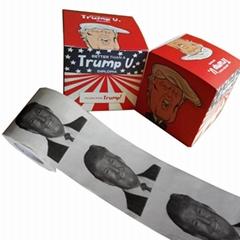 Trump toilet roll Donald trump printed toilet paper