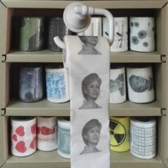 Hilary paper tissue Hilary toilet roll printed toilet paper