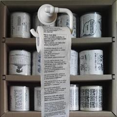 custom design printed toilet paper words toilet roll