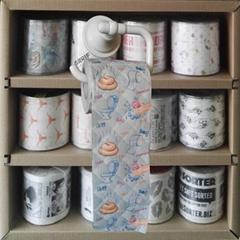 custom design printed toilet paper