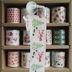 聖誕節廁紙訂做印花衛生紙