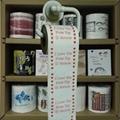 valentines printed toilet paper