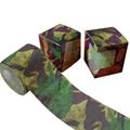 Camouflage printed bathroom tissue