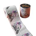 Carton motorcycles printed toilet roll