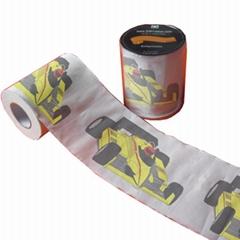 超級跑車彩色衛生紙