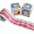 Money printed toilet roll
