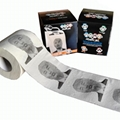 Printed American president color toilet paper
