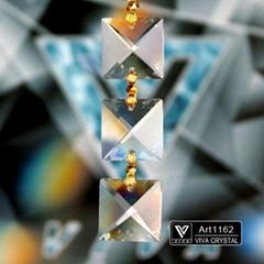 K9水晶灯饰配件 四方珠