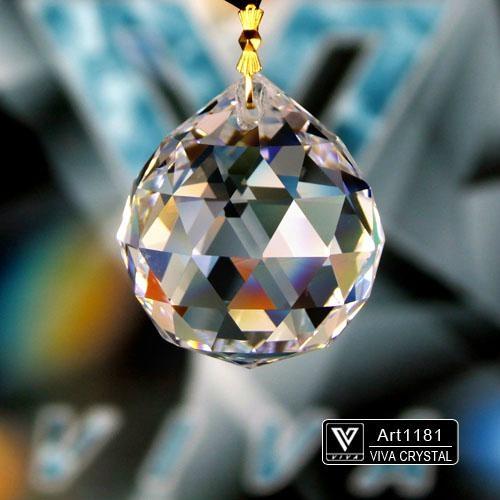 K9水晶燈飾配件 水晶球 1