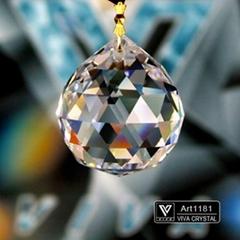 K9水晶灯饰配件 水晶球
