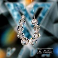 K9水晶燈飾配件 鳳梨珠