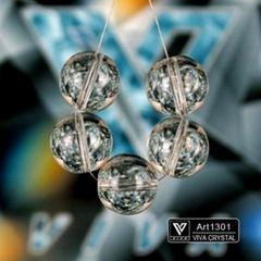 K9水晶燈飾配件  圓珠