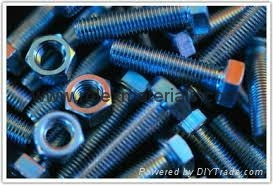Heavy Hex Structural A325 A490 Bolt A563 Nut 1