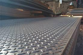 MS Chequered Plate ASTM A36 ST37-2 S275JR 2