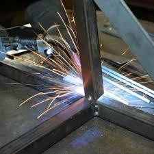 MS Steel Structure Fabrication Welding