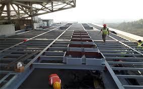 MS Steel Structure Fabrication Welding 4