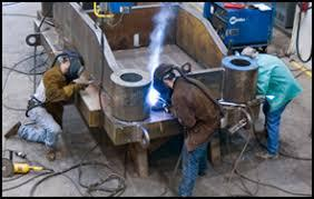 MS Steel Structure Fabrication Welding 6