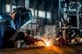 MS Steel Structure Fabrication Welding 7