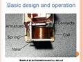 Relay Core Pin Heelpiece Armature 8