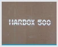 HARDOX 500 Plates Average Hardness 500BHN