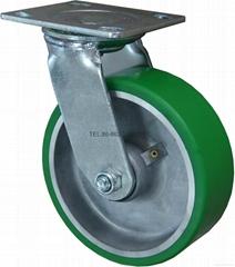 重型铸铁包PU脚轮