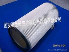 供應金旺盛聚酯纖維除塵濾筒325*660