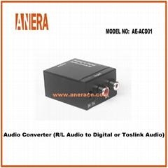 Audio Converter  (R/L Audio to Digital