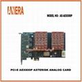 PCI-E AEX800P ASTERISK ANALOG CARD