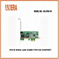 PCI-e Giga LAN CARD VT6130 CHIPSET
