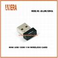 USB 150M 11N WIRELESS CARD