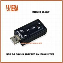 USB 7.1 SOUND ADAPTER CM108 CHIPSET